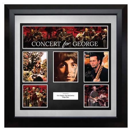 Signed + Framed Collage // A Concert for George