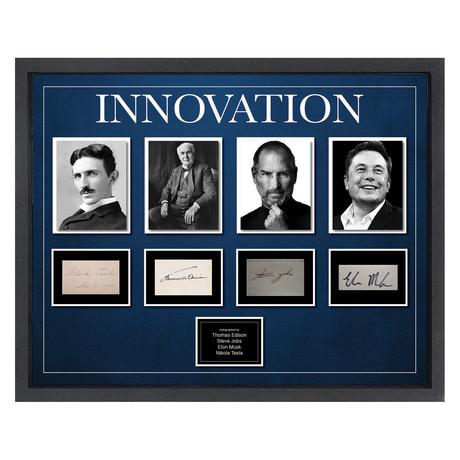 Signed + Framed Signature Collage // Innovation