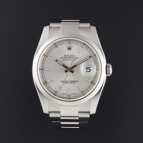 Rolex Datejust 36 Automatic // 116200 // Random Serial // Store Display