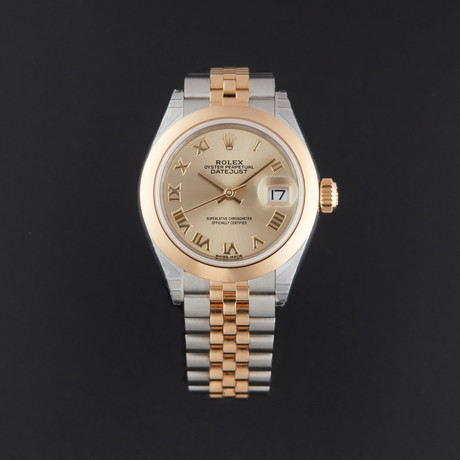 Rolex Lady-Datejust 28 Automatic // 279163 // Random Serial // Store Display