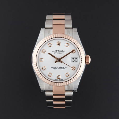 Rolex Datejust 31 Automatic // 178271 // Random Serial // Store Display