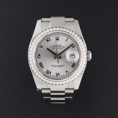 Rolex Datejust 36 Automatic // 116244 // Random Serial // Store Display