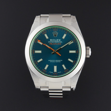 Rolex Milgauss Automatic // 116400GV // Random Serial // Store Display