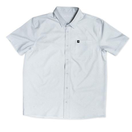 Harbour II Pressure Short Sleeve Shirt // Silver (S)