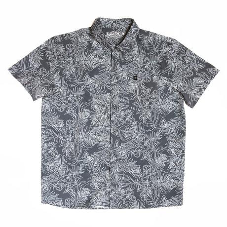 Harbour II Alo Short Sleeve Shirt // Slate (S)