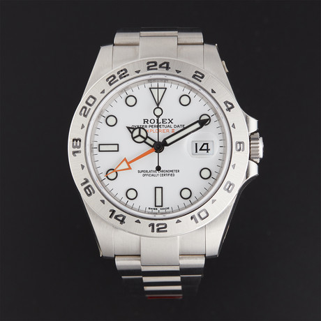 Rolex Explorer II Automatic // 216570 // Random Serial // Store Display