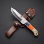 D2 // Sheep Horn + Orange Corelon Hunting Knife