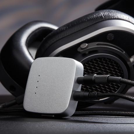 Portable Headphone Amplifier // Silver