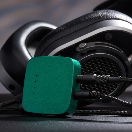 Portable Headphone Amplifier // Green
