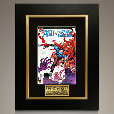 Ash Vs The Army Of Darkness #0 // Bruce Campbell (Signed Comic Book Only)