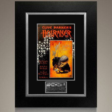 Hellraiser #1 1989 // Clive Barker + Stan Lee + Doug Bradley Signed Comic // Custom Frame (Signed Comic Book Only)