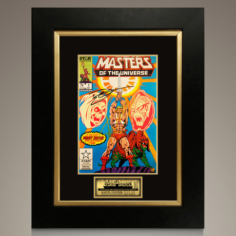 He-Man Masters of the Universe #1 // Stan Lee + Dolph Lundgren Signed Comic // Custom Frame (Signed Comic Book Only)