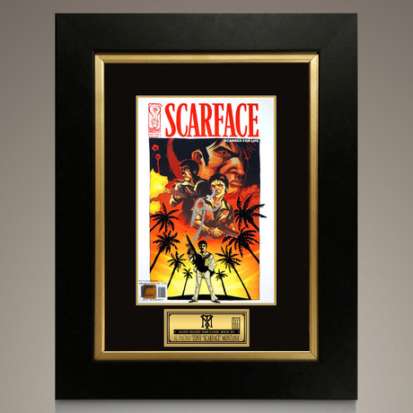 Scarface Scarred For Life # 1 2006 // Al Pacino Signed Comic // Custom Frame (Signed Comic Book Only)