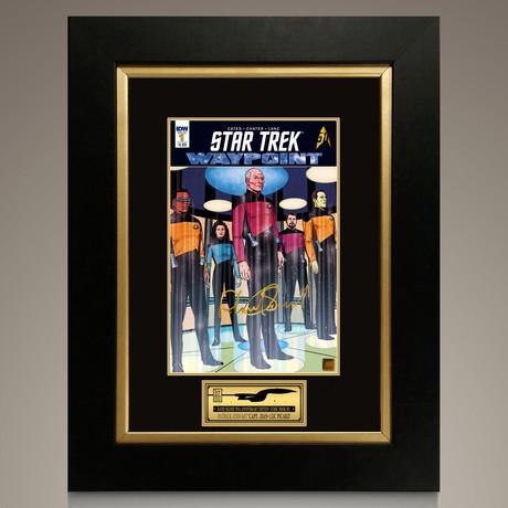 Star Trek Waypoint #1 // Patrick Stewart Signed Comic // Custom Frame (Signed Comic Book Only)