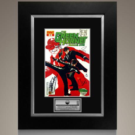 The Green Hornet Parallel Lives #1 // Stan Lee + Jai Nitz + Seth Rogen + Christoph Waltz Signed Comic // Custom Frame (Signed Comic Book Only)