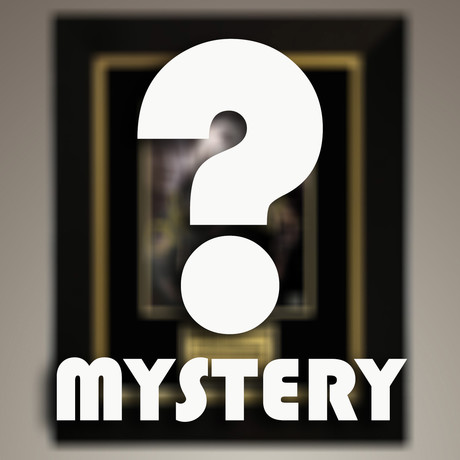 Mystery Comic book // Hand Signed Memorabilia // Custom Frame (Signed Comic Book Only)