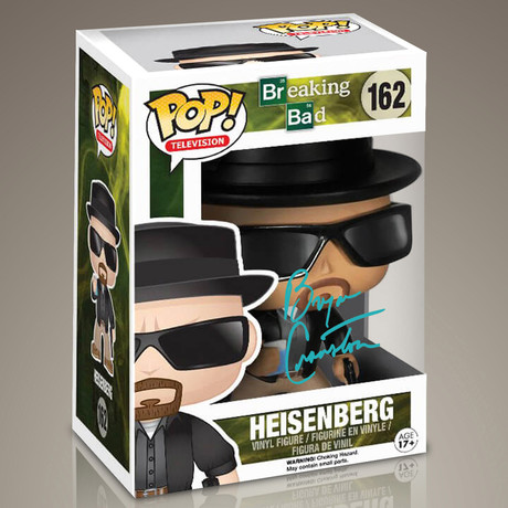 Breaking Bad Heisenberg // Bryan Cranston Signed Pop