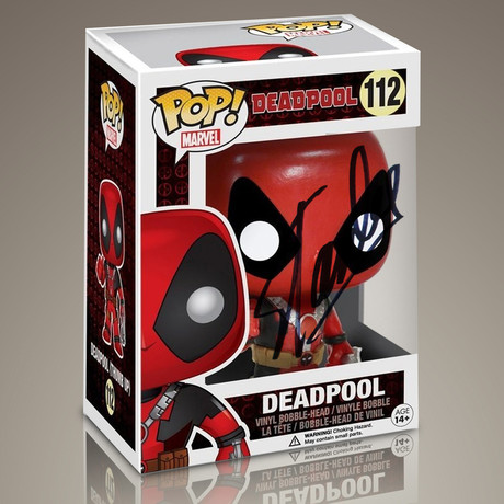 Deadpool Thumbs Up // Stan Lee Signed Pop