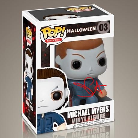 Halloween Michael Myers // John Carpenter Signed Pop