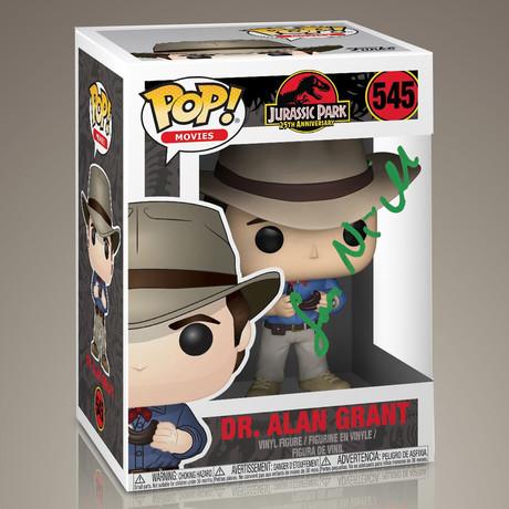 Jurassic Park Dr Grant // Sam Neill Signed Pop