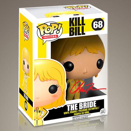 Kill Bill The Bride // Uma Thurman Signed Pop