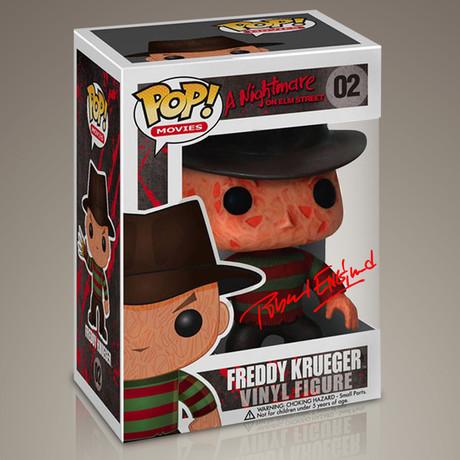 Nightmare On Elm Street Freddy Krueger // Robert Englund Signed Pop