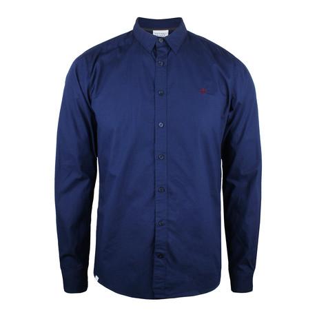Crown Shirt // Mid Navy (XS)