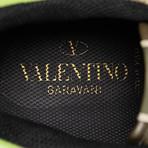Valentino // Rockstud Suede Sneakers // Multi-Color (US: 10)