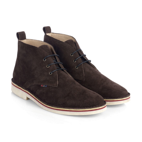 Hanover Desert Suede Boot // Dark Brown (UK: 6)