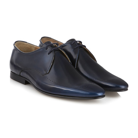 Regent II Brush Off Derby // Navy (UK: 6)