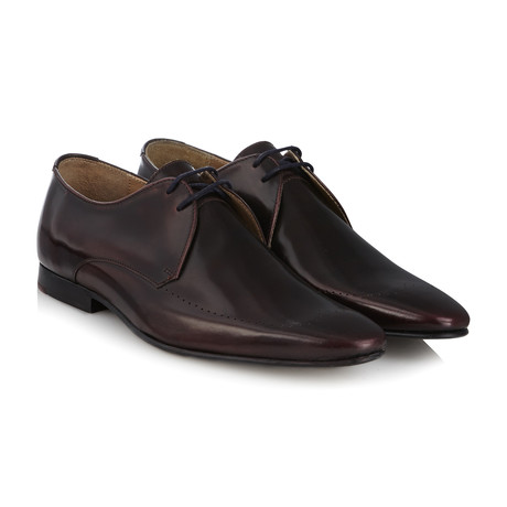 Regent II Brush Off Derby // Burgundy (UK: 6)