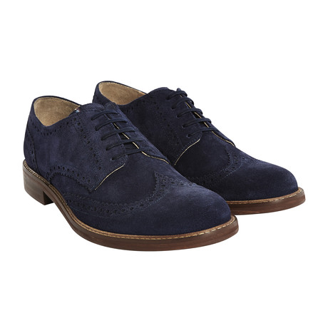 Aldwych Suede Brogue // Navy (UK: 6)