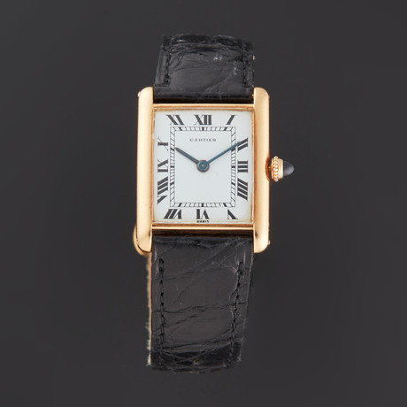 Cartier Tank Manual Wind // Pre-Owned