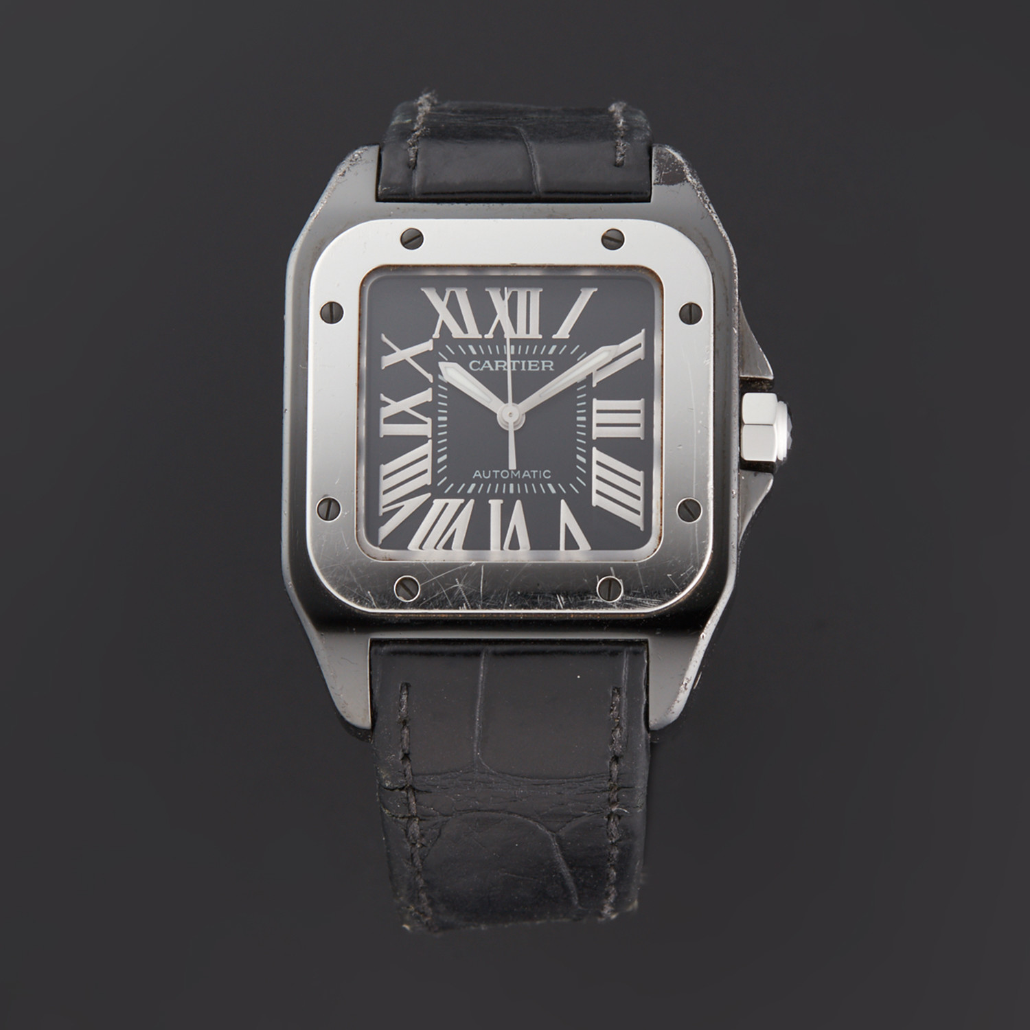 Cartier Santos 100 Automatic // W2020008 // Pre-Owned - 24-Hour Special // Exciting Timepieces ...