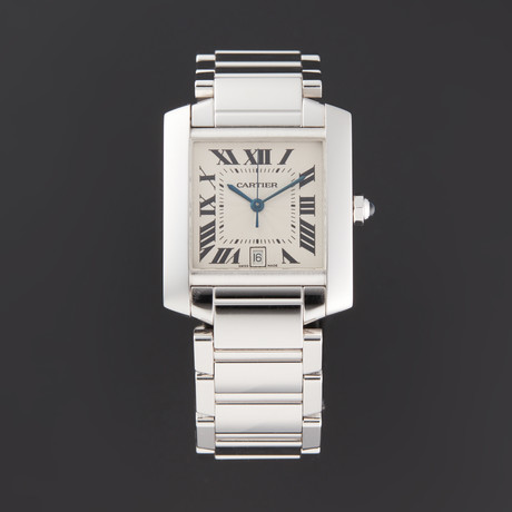 Cartier Tank Francaise Automatic // 2366 // Pre-Owned