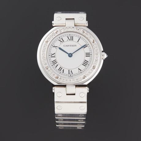 Cartier Round Santos Quartz // 177057 // Pre-Owned