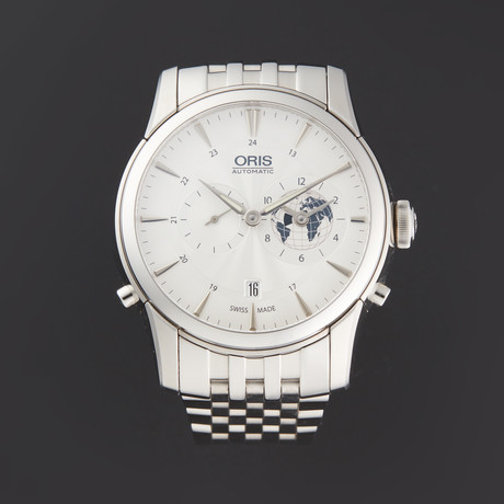 Oris Greenwich Mean Time Automatic // 01 690 7690 4081-07 8 22 77 // Pre-Owned