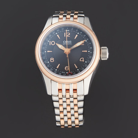 Oris Ladies Big Crown Pointer Date Automatic // 01 594 7680 4334-07 8 14 32 // Pre-Owned