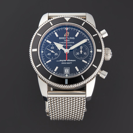 Breitling Transocean Chronograph Automatic // A23370 // Pre-Owned