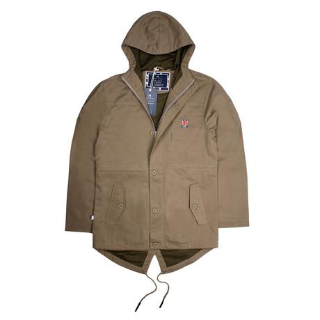 Berwick Parker Jacket // Khaki (XS)