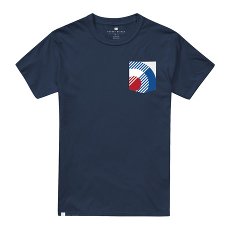 Bauhaus Pocket T-Shirt // Navy (S)