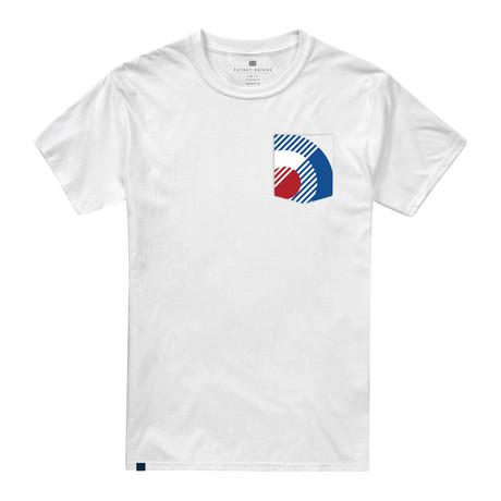 Bauhaus Pocket T-Shirt // White (XS)