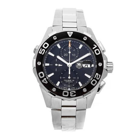 Tag Heuer Aquaracer Chronograph Automatic // CAJ2110.BA0872 // Pre-Owned