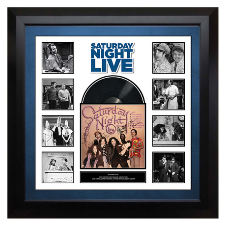 Signed + Framed Album // Saturday Night Live