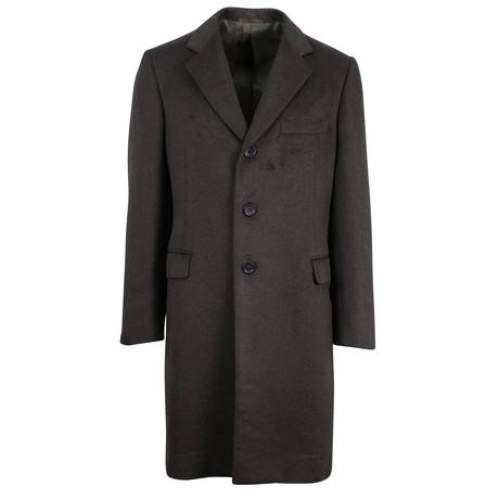Belvest // Silk Coat // Brown (Euro: 48)