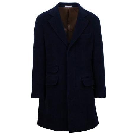 Overcoat // Navy Blue (Euro: 48)