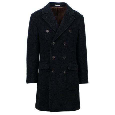 Double Breasted Overcoat // Gray (Euro: 48)