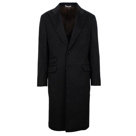 Brunello Cucinelli // Cashmere Overcoat // Gray (Euro: 48)
