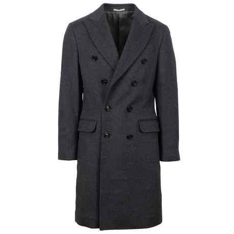 Double Breasted Coat // Gray (Euro: 48)