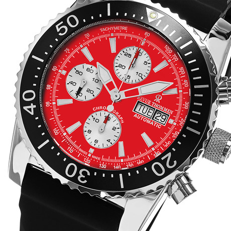 Revue Thommen Chronograph Automatic // 17030.6536